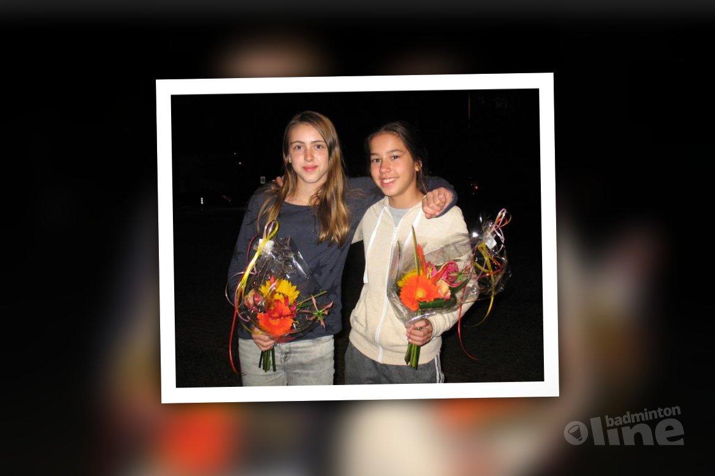 Meike Versteeg winnaar op Swiss Junior Open badminton toernooi in Geneve
