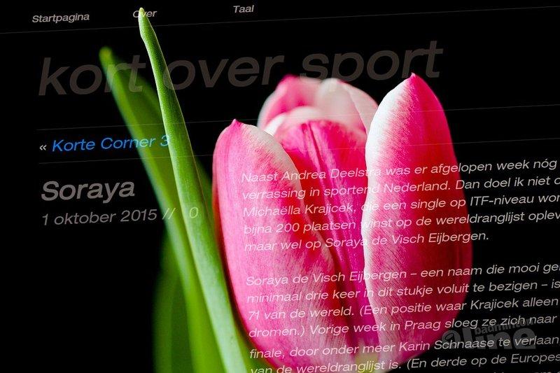 Cabaretier Jan Beuving kort over sport: Soraya - Pixabay / badmintonline.nl