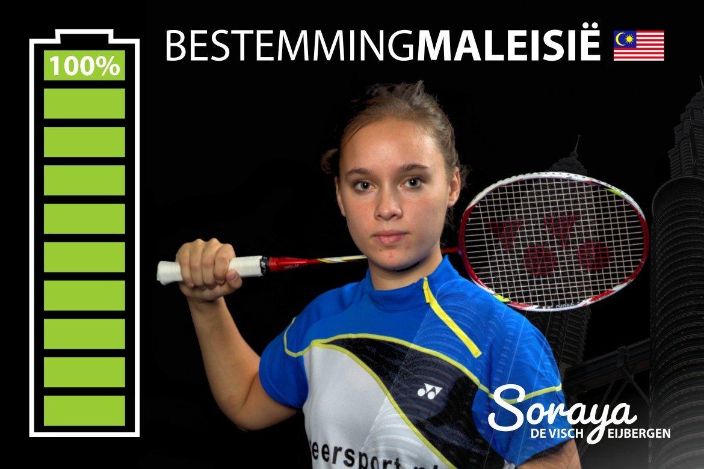 Topbadmintonner Soraya de Visch Eijbergen haalt crowdfundingrecord: €3.500 in 25 dagen