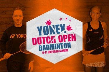 Nederlandse koppels favoriet voor titel Yonex Dutch Open