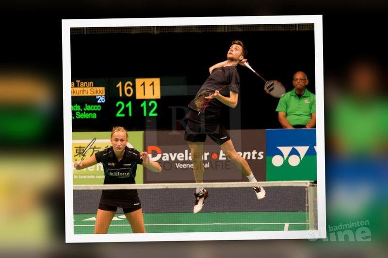 Jacco Arends en Selena Piek naar halve finale Bitburger Open - René Lagerwaard