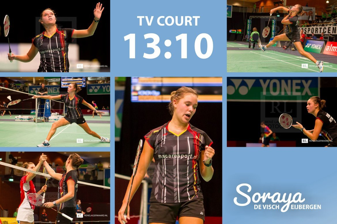 Soraya de Visch Eijbergen: Through to the second round!