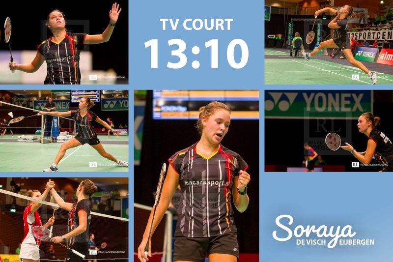 Soraya de Visch Eijbergen: Through to the second round! - René Lagerwaard / Soraya de Visch Eijbergen