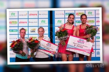 Muskens en Piek tweede in vrouwendubbel Yonex Dutch Open 2015