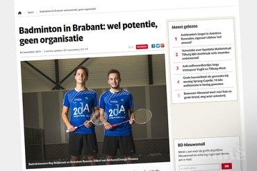 Roy Reijbroek: Met alle Brabantse spelers in de eredivisie zou je wel een ploeg op kunnen richten
