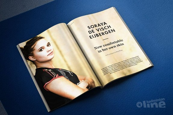 Soraya de Visch Eijbergen: Now comfortable in her own skin - Badminton Europe
