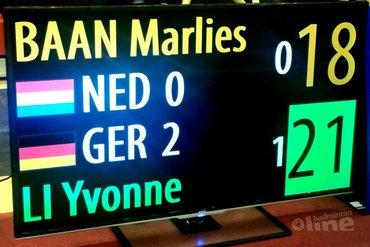 Wereld Jeugdkampioenschappen 2015: Nipt verlies van Duitsland