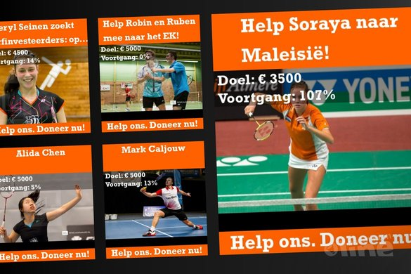 Werkt crowdfunding voor badminton? - badmintonline.nl
