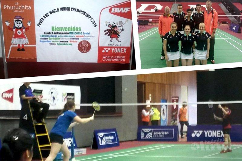 Wereld Jeugdkampioenschappen 2015: Individueel toernooi zit erop voor Nederland - Badminton Nederland