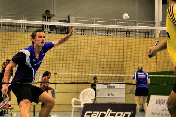 Tijdperk Palyama en Pang voorbij: NK Badminton 2016 mannenenkelspel - BC DKC