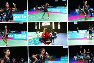 Soraya de Visch Eijbergen through to round two at the Scottish Open Grand Prix 2015