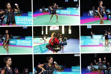 Soraya de Visch Eijbergen through to round two at the Scottish Open Grand Prix 2015