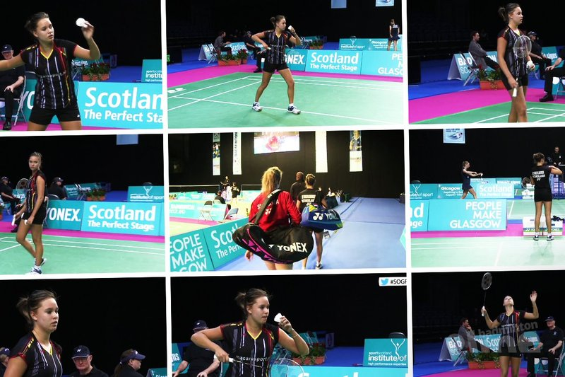Soraya de Visch Eijbergen through to round two at the Scottish Open Grand Prix 2015 - Badminton Europe