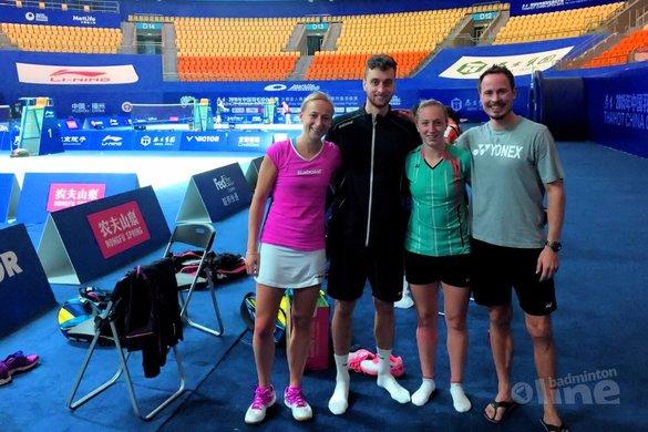 Reële kwalificatiekansen Rio voor Arends, Piek en Muskens - Badminton Nederland