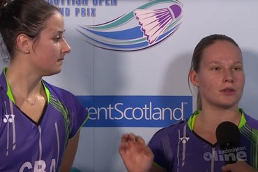 Dominant Dutch end English girls dream at Scottish Open Grand Prix 2015