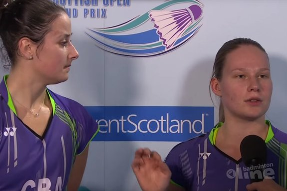 Dominant Dutch end English girls dream at Scottish Open Grand Prix 2015 - Badminton Europe