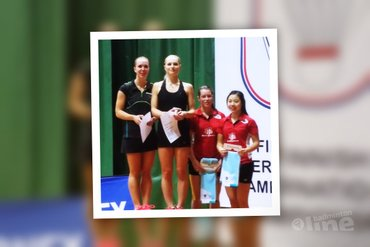Cheryl Seinen and Alida Chen runners-up at Finnish International