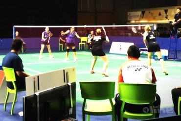 Halve finale voor badmintonsters Piek en Muskens in Brazilië
