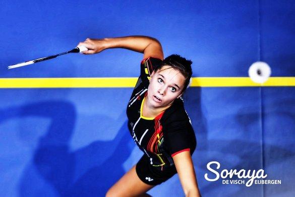 Soraya de Visch Eijbergen naar kwartfinales Irish Open 2018 - Ladislav Kana