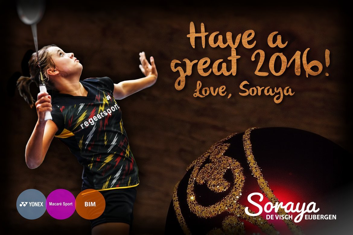 Soraya de Visch Eijbergen: Have a great 2016!
