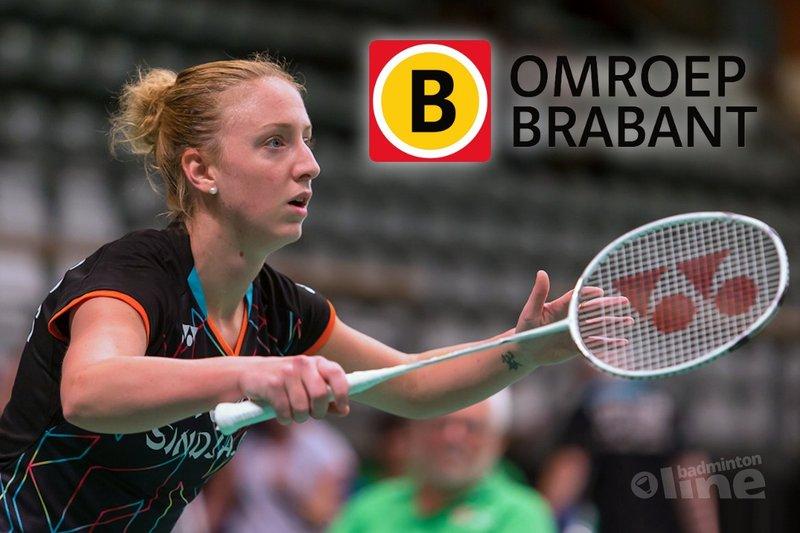 Eefje Muskens bij Omroep Brabant radio! - René Lagerwaard, badmintonline.nl