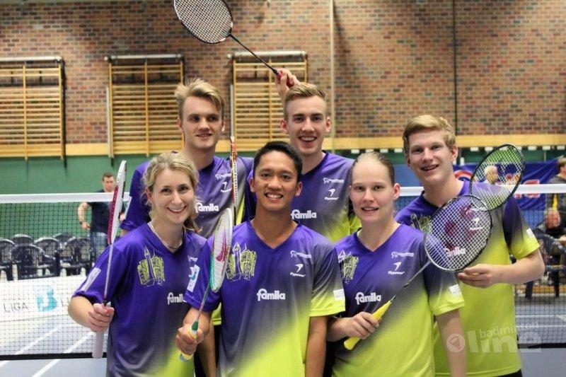 Een nieuwe start voor Robin Tabeling - Badminton Trittau