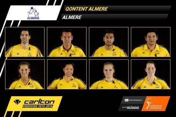 Zaterdag 31 oktober 2015: Almere ontvangt Duinwijck - Badminton Nederland