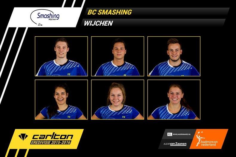 Deze afbeelding hoort bij 'Smashing pakt een punt van Duinwijck af' en is gemaakt door Badminton Nederland