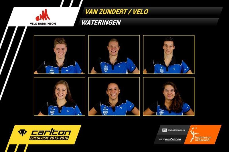 Eenvoudige zege VELO - Badminton Nederland