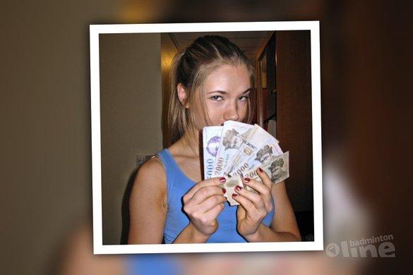 Do you get rich from playing badminton? Airi Mikkela answers! - Airi Mikkela