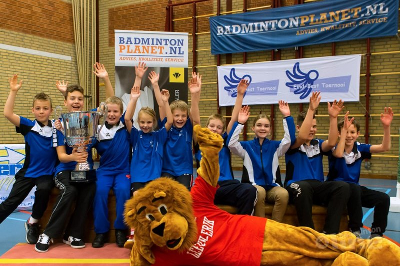 Veghel wint clubbeker tijdens Start-Best toernooi van BC Alouette - René Lagerwaard