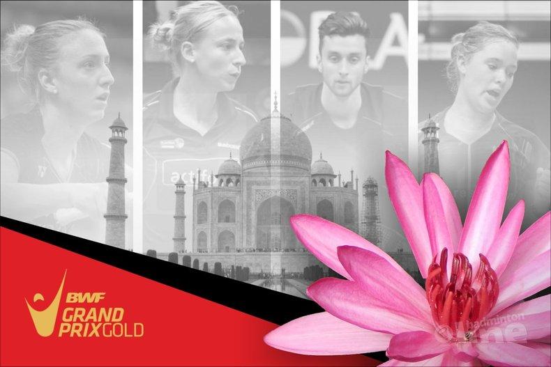 Deze afbeelding hoort bij 'Favorable draw for Dutch players at Indian Grand Prix Gold tournament' en is gemaakt door René Lagerwaard / badmintonline.nl