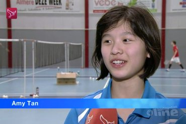 Amy Tan onderweg naar badminton-top