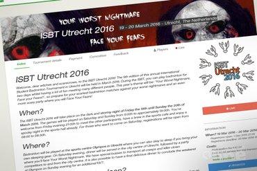 Badmintonnen en een feestje: ISBT Utrecht 2016