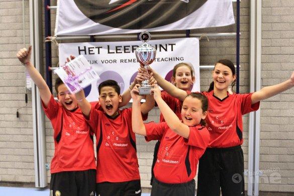 De Hoeksteen wint scholentoernooi opnieuw - BCRS