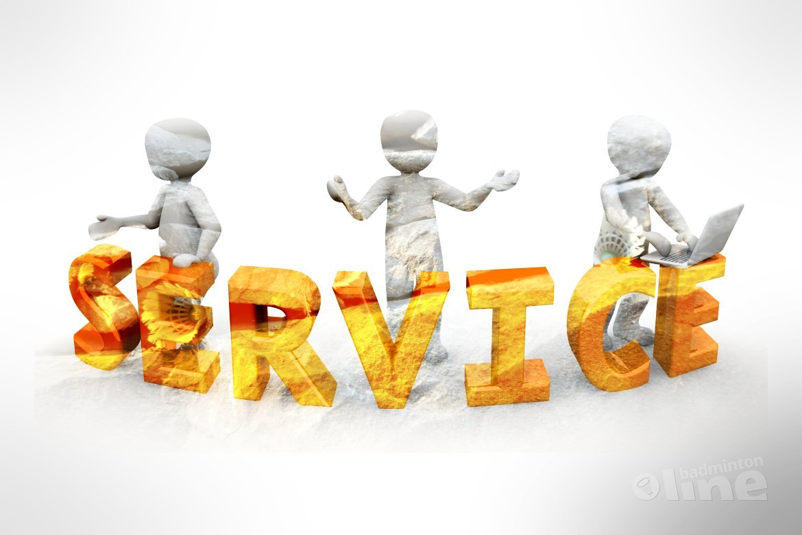 At your service!