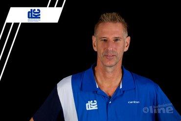Coach Leonard van Velzen neemt afscheid van DKC