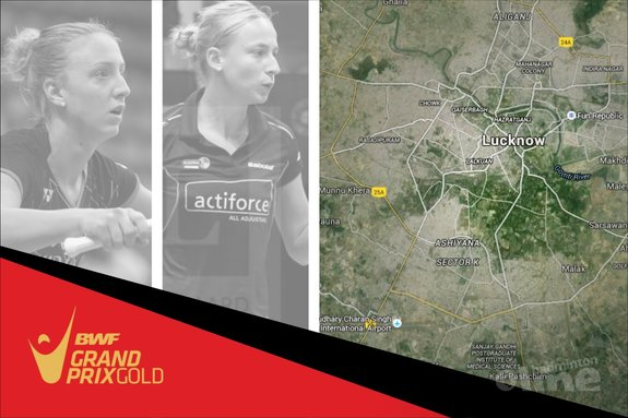 Piek en Muskens moeiteloos naar tweede ronde in India - René Lagerwaard / Google Maps / badmintonline.nl