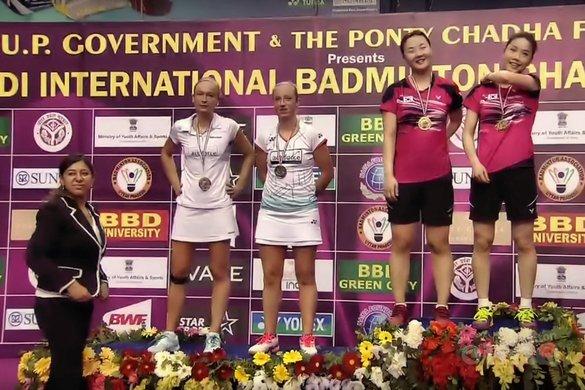 Muskens en Piek ten onder in finale India Grand Prix Gold toernooi - BWF