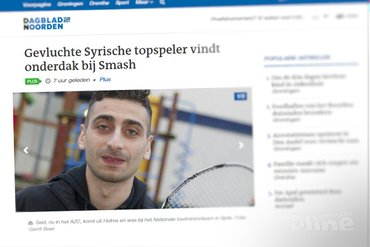 Gevluchte Syrische topspeler vindt onderdak bij Smash