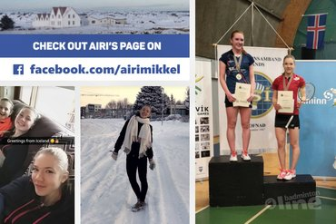 Finnish silver in Iceland for Airi Mikkela