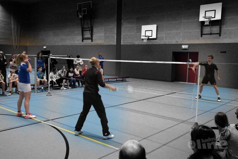 Jacco, Selena en Eefje bij ALLsportsradio - Badminton Duo Vereniging Veenendaal