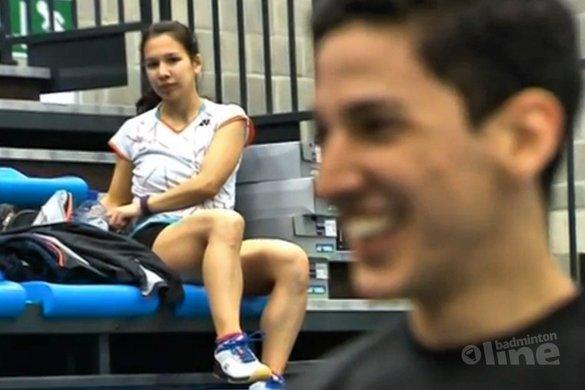 Yuhan Tan staat in de kwartfinales van het EK badminton - Sporza