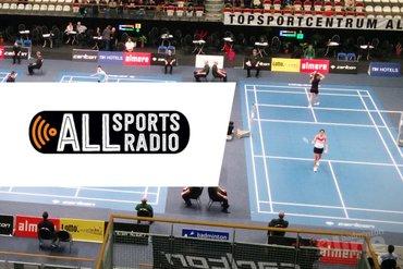ALLsportsradio bij Carlton NK Badminton 2016: spanning en sensatie!