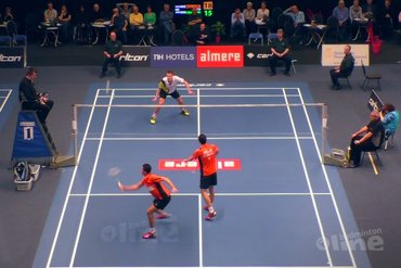 NK Badminton 2016: Erik Meijs tegen Mark Caljouw