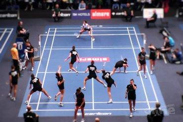 NK Badminton 2016: Soraya de Visch Eijbergen tegen Gayle Mahulette