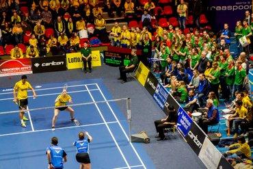 Paul Kleijn: Pure badmintonbeleving tijdens eredivisiefinale in Maaspoort