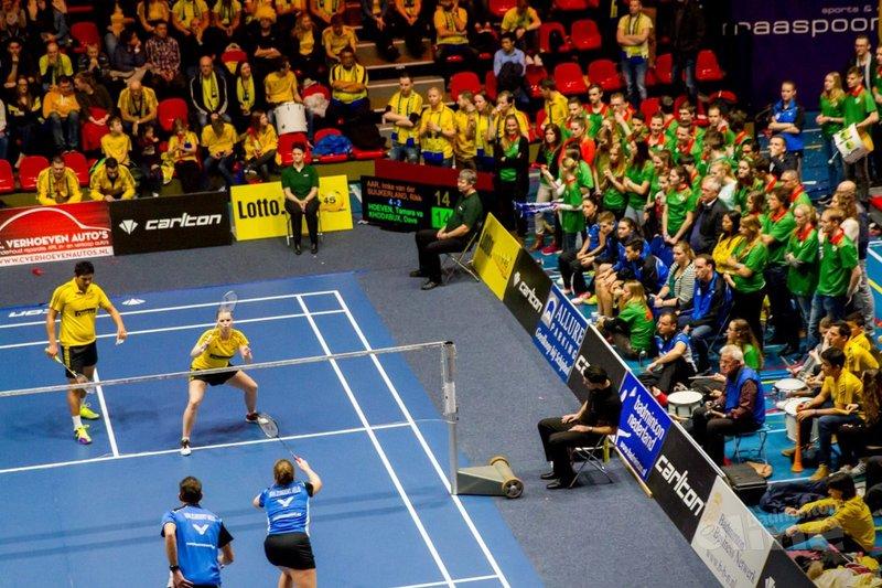 Paul Kleijn: Pure badmintonbeleving tijdens eredivisiefinale in Maaspoort - Amber Derksen