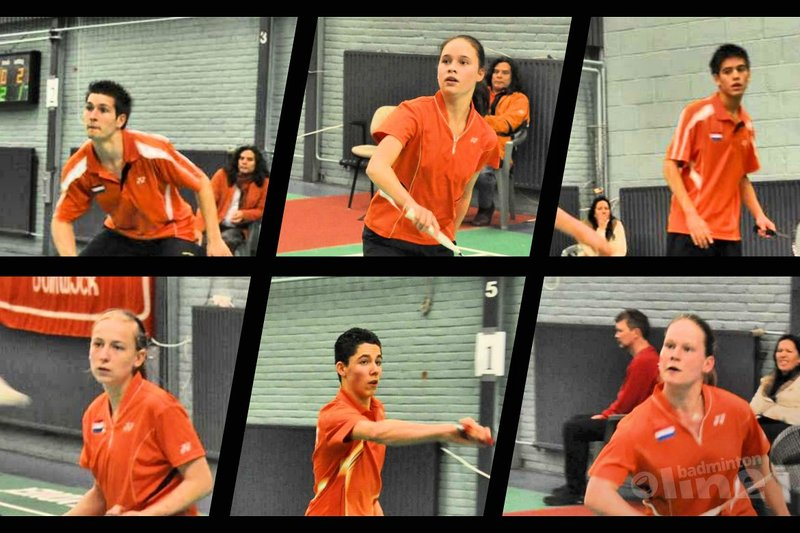 Internationaal topbadminton op de Yonex Dutch Junior International in Haarlem - Dutch Junior