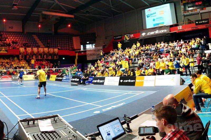 Badmintoncoach Erik Staats nog in maag met verlies finale landskampioenschap Carlton Eredivisie - badmintonline.nl
